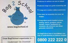 Bag2School kledinginzameling